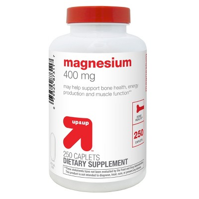 Magnesium Dietary Supplement Caplets - 250ct - up & up™