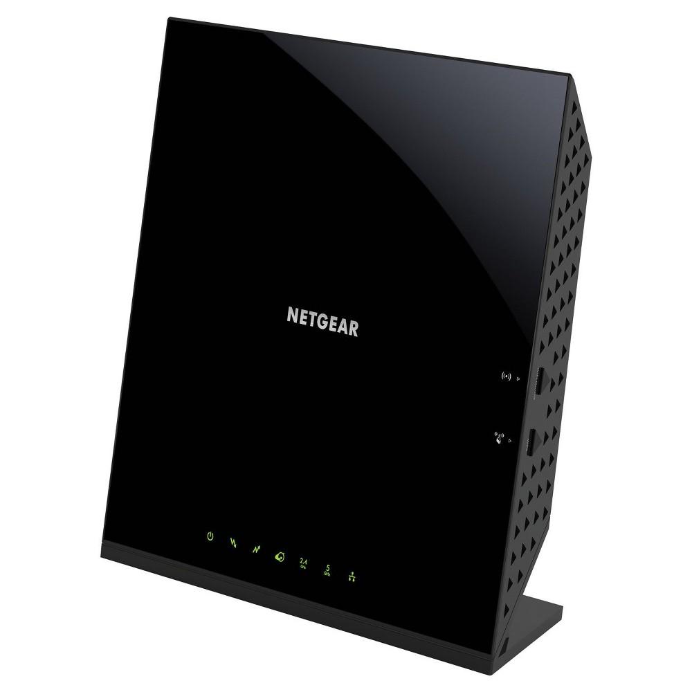 Netgear AC1600 WiFi Docsis 3.0 Cable Modem Router (C6250), Black