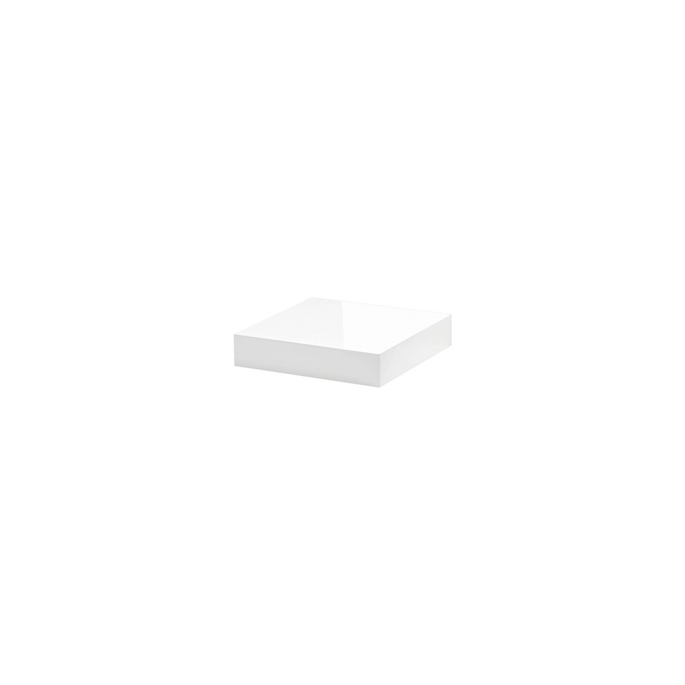 "Image of ""10"""" x 10"""" Big Boy Gloss Shelf White - Dolle Shelving"""