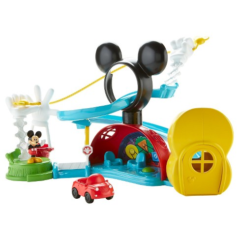 Fisher-Price Disney Mickey Mouse Clubhouse Zip, Slide and Zoom Clubhouse - image 1 of 10