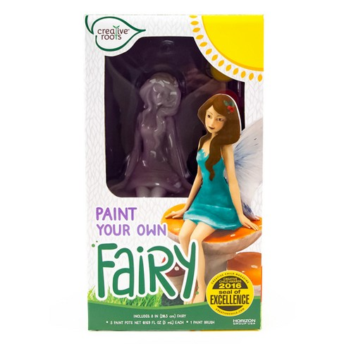 Paint Your Own Fairy Kit - Creative Roots - image 1 of 4