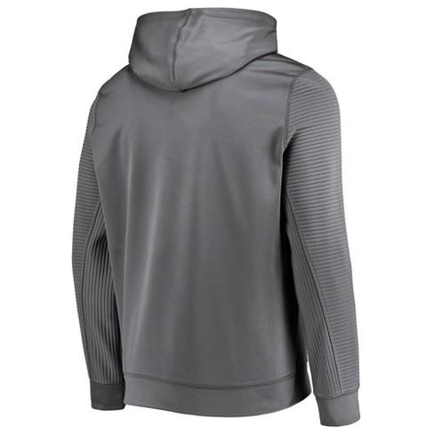 ef4931de7 NBA Minnesota Timberwolves Men s Linear Stripe Gray Performance Hoodie    Target