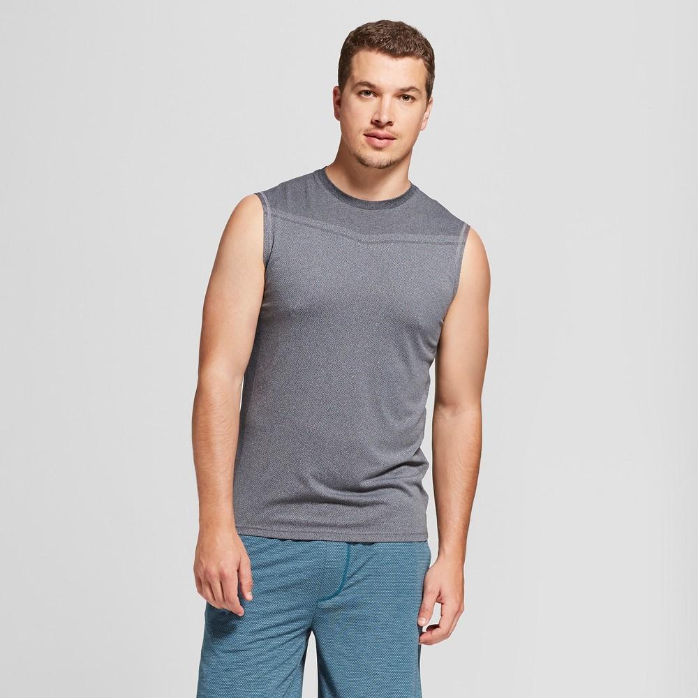 Image of Men's Sleeveless Running T-Shirt - C9 Champion Black Heather XXL, Size: XXL
