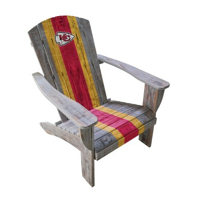 NFL Kansas City Chiefs Wooden Adirondack Chair