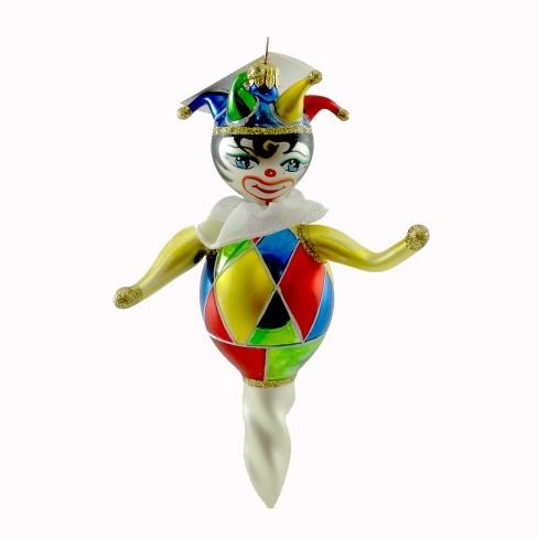 Laved Italian Ornaments Jester Twist Clown  -  Tree Ornaments - image 1 of 2