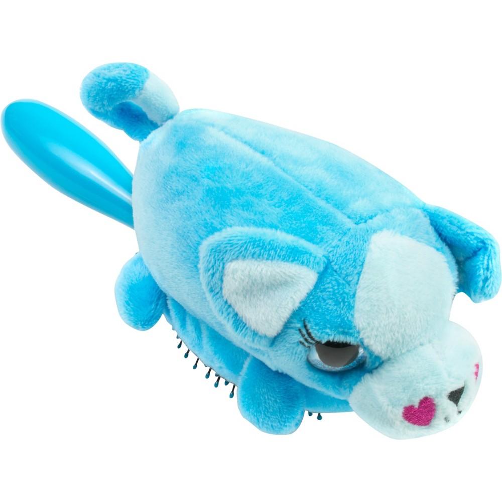 Image of Wet Brush Detangler Plush Puppy Hair Brush - Blue
