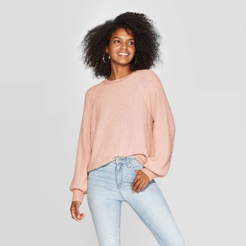 Women's Long Sleeve Crewneck Pullover Sweater - Knox Rose™ - image 1 of 2
