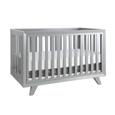 Karla Dubois Wooster Convertible 3-in-1 Crib - Moon Gray