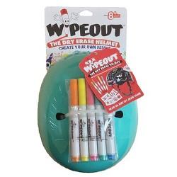 Wipeout Helmet - Teal