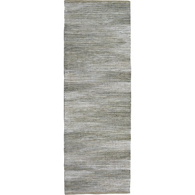"2'3""X7' Runner Woven Rug Gray - Threshold™"