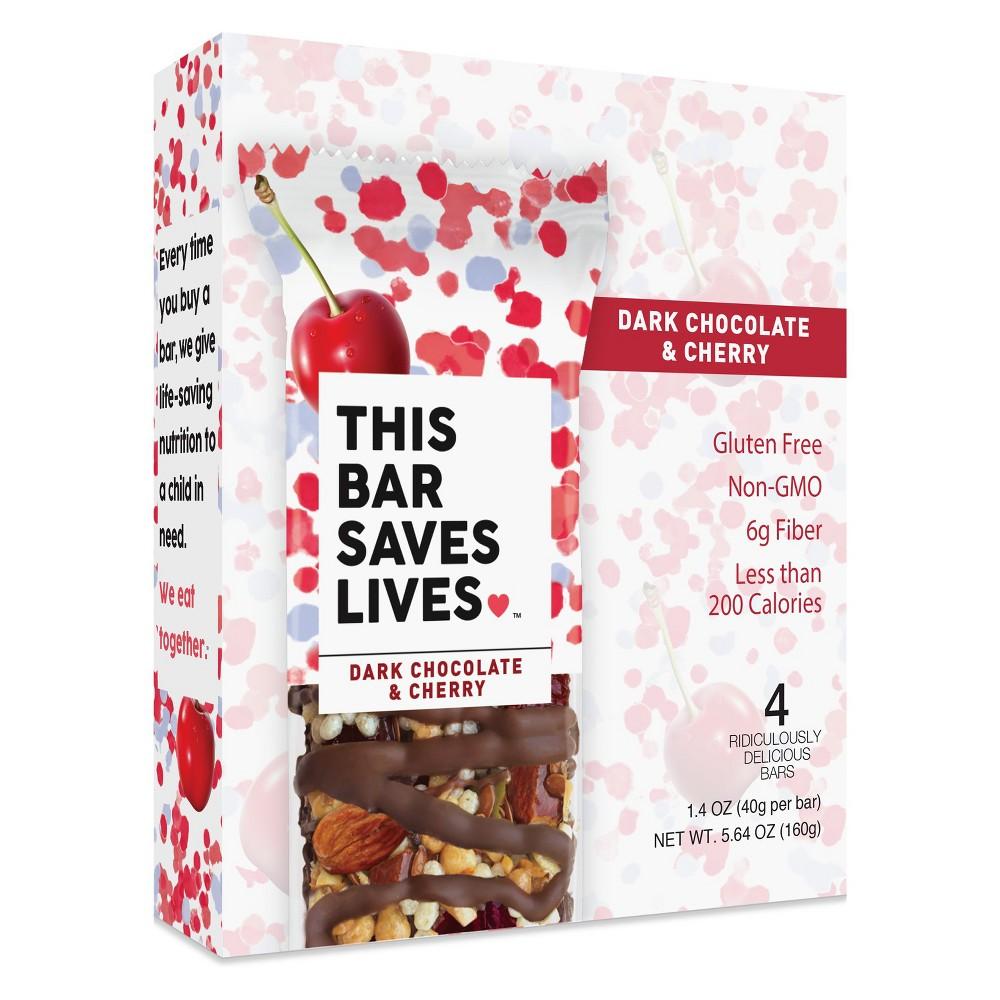 Dark Chocolate Cherry & Sea Salt All Granola Bars - 5.36oz