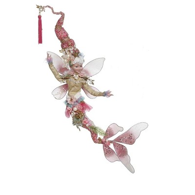 Mark Roberts Products Mark Roberts Pink and Gold Mermaid Christmas Fairy, Large 20-Inches