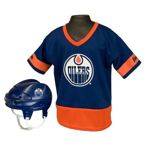 48035c5d5 Edmonton Oilers Franklin Sports® Licensed Hockey Uniform Set For Kids    Target