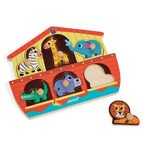 Janod Noah's Ark Wooden Puzzle - image 1 of 2
