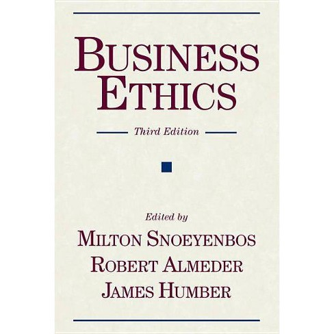 Business Ethics - 3 Edition (Paperback) - image 1 of 1