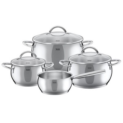 Silit Nobile Stainless Steel 7 Piece Cookware Set