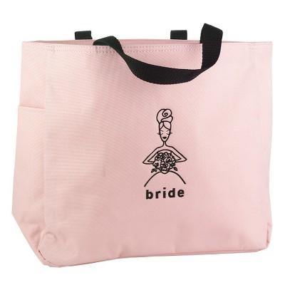 Bride Wedding Gift Tote Bag - Pink