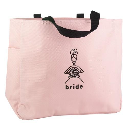 Bride Wedding Gift Tote Bag - Pink, Women's