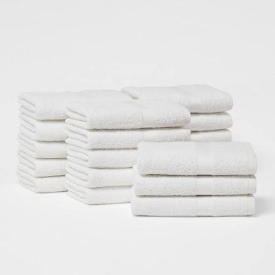 18pk Hand Towel Bundle White - Room Essentials™