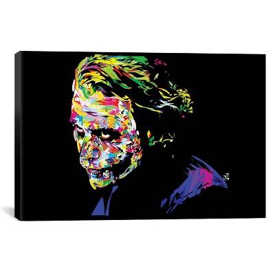 "Joker II by Technodrome1 Canvas Print (18""x26"")"