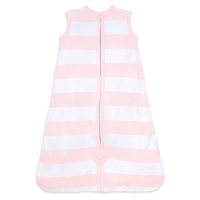Burt's Bees Baby® Beekeeper™ Wearable Blanket Organic Cotton - Rugby Stripes - Pink - S