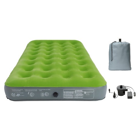 Single High Twin Air Mattress With Pump   Embark™ : Target