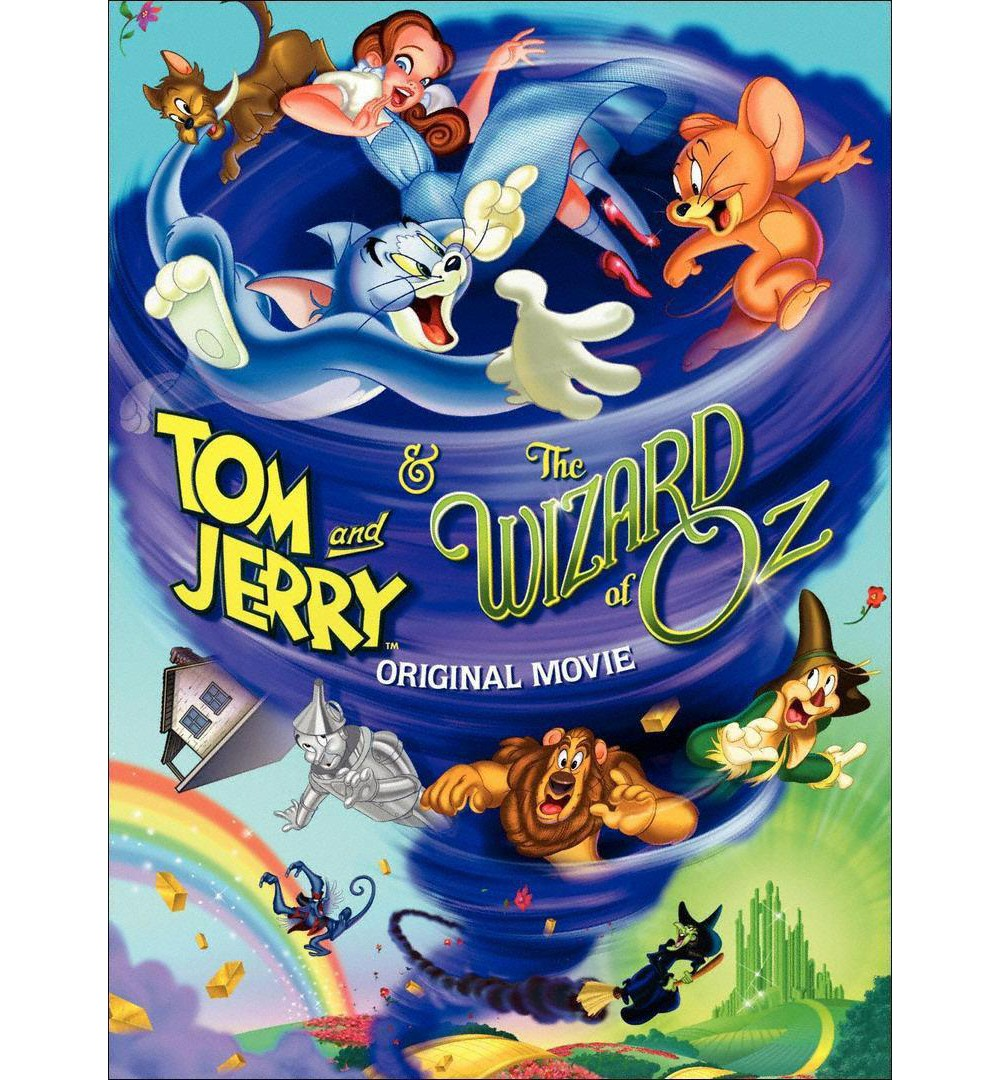 Warner Brothers Tom and Jerry & The Wizard of Oz (dvd_video)