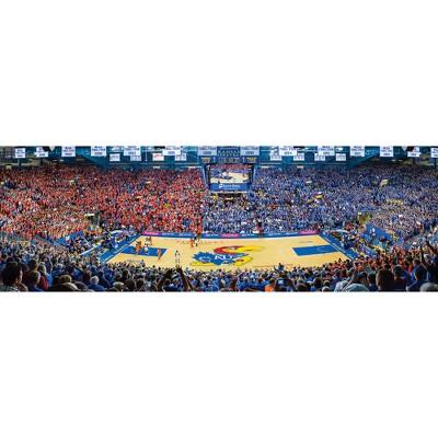 NCAA Kansas Jayhawks 1000pc Panoramic Puzzle