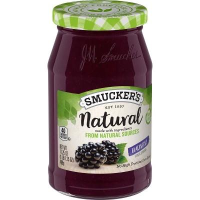 Smucker's Natural Blackberry Fruit Spread - 17.25oz