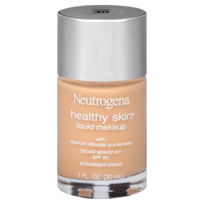 Neutrogena Healthy Skin Liquid Makeup - 40 Nude - 1 fl oz - image 1 of 9