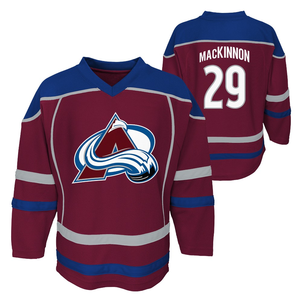 Colorado Avalanche Youth Jersey XL, Boy's, Multicolored