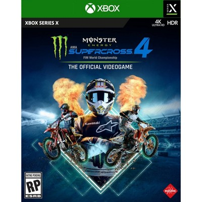 Monster Energy Supercross 4: The Official Video Game - Xbox Series X