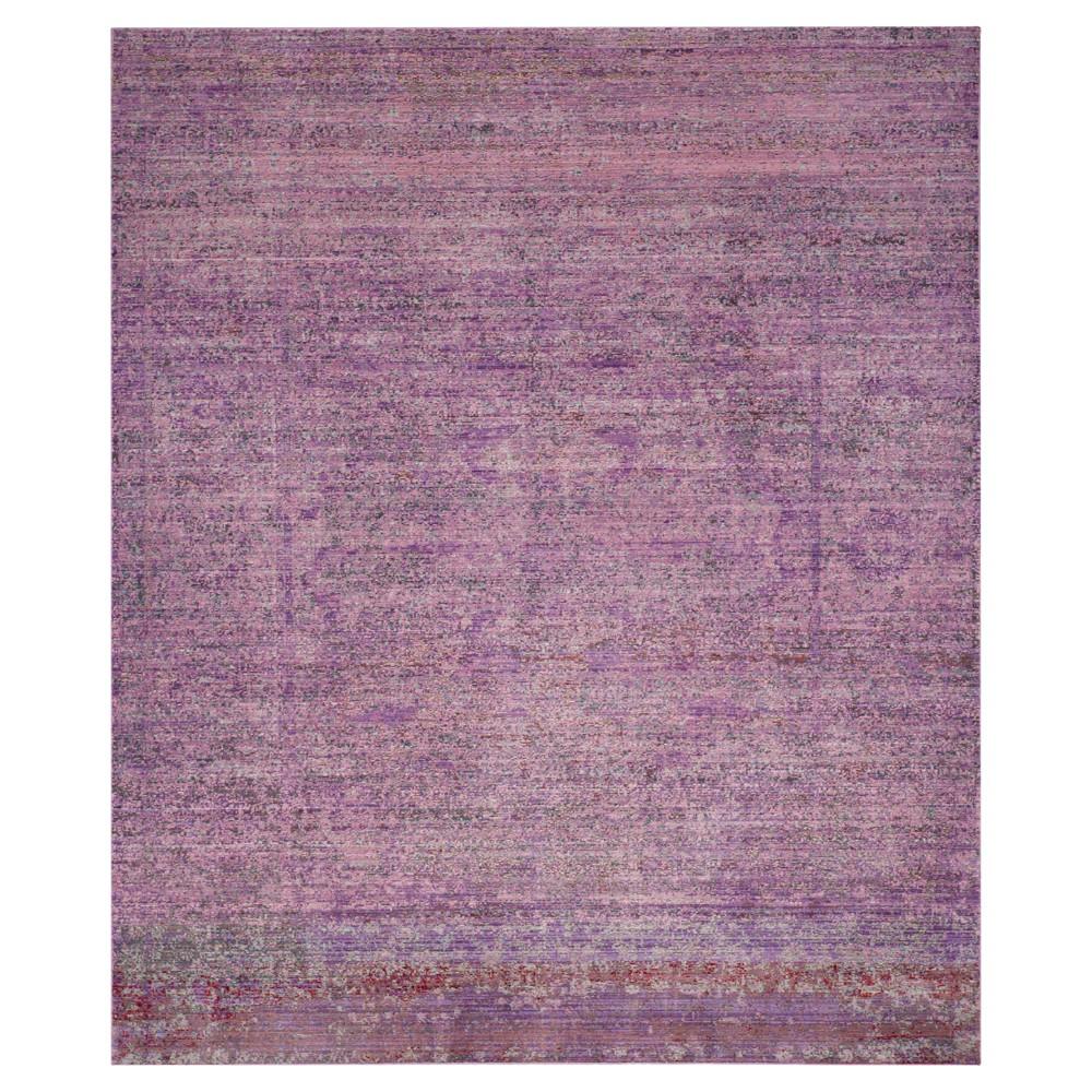 Image of Sacha Area Rug - Lavander / Multi (8' X 10') - Safavieh, Size: 8'X10', Purple/Multi-Colored