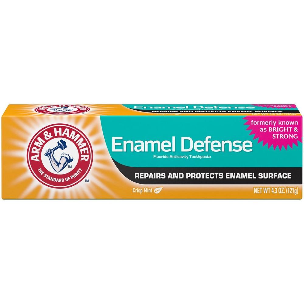 Arm 38 Hammer Crisp Mint Enamel Defense Fluoride Toothpaste 4 3oz