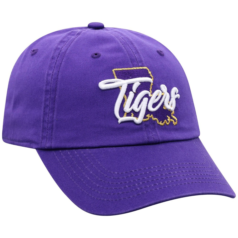 Ncaa Lsu Tigers Women 39 S State Washed Cotton Hat