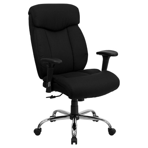 HERCULES Series 400 lb. Capacity Big & Tall Adjustable Executive Swivel Office Chair Black- Flash Furniture - image 1 of 4