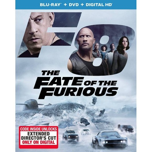 The Fate of the Furious (Hobbs & Shaw Movie Cash) (Blu-Ray + DVD + Digital) - image 1 of 1