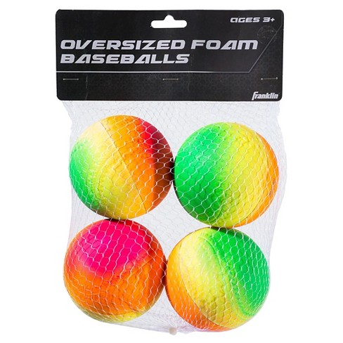 Franklin Sports Vibe Oversized Foam Ball - 4pk - image 1 of 1