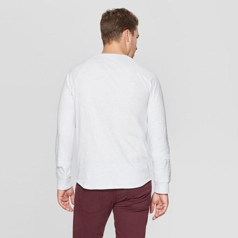 43e08299994 Men s Regular Fit Long Sleeve Jersey Henley Shirt - Goodfellow   Co ...