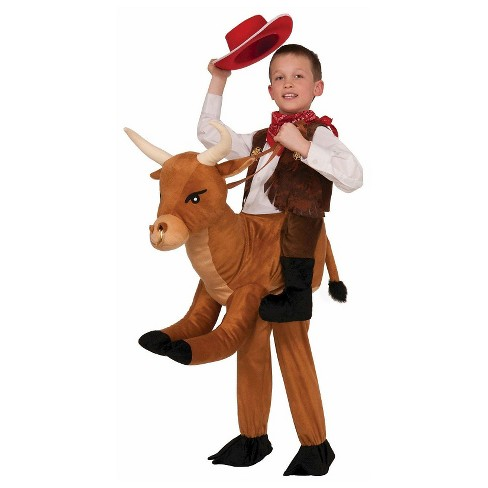 Kids' Ride On Bull Costume - image 1 of 1