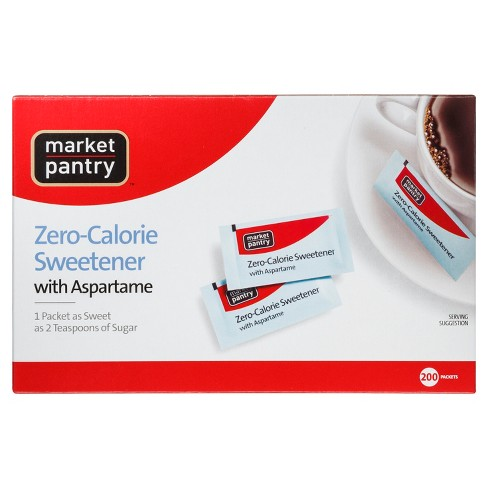 Sugar Substitute with Aspartame - 200ct - Market Pantry™ - image 1 of 1