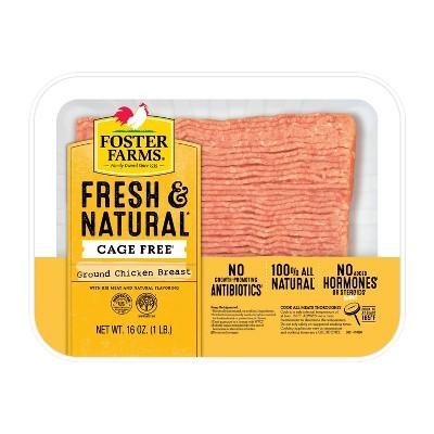 Foster Farms USDA Ground Chicken Breast - 16oz