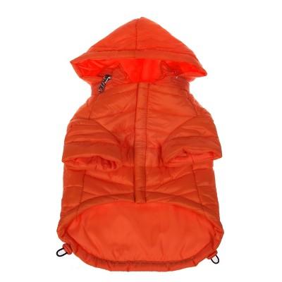 Pet Life Lightweight Adjustable 'Sporty Avalanche' Dog and Cat Coat - Orange