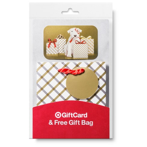All In One Plaid Gift Bag Card Target