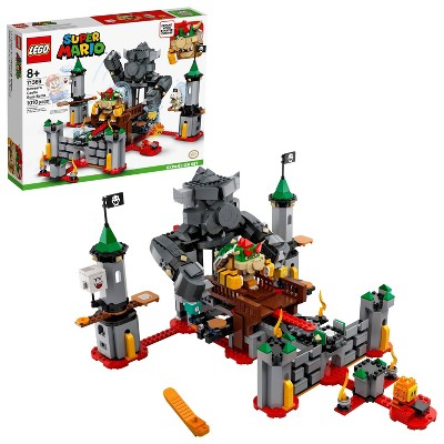 LEGO Super Mario Bowser's Castle Boss Battle Expansion Set Unique Toy for Creative Kids 71369