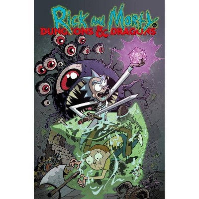 Rick and Morty vs. Dungeons & Dragons - by  Patrick Rothfuss & Jim Zub (Paperback)