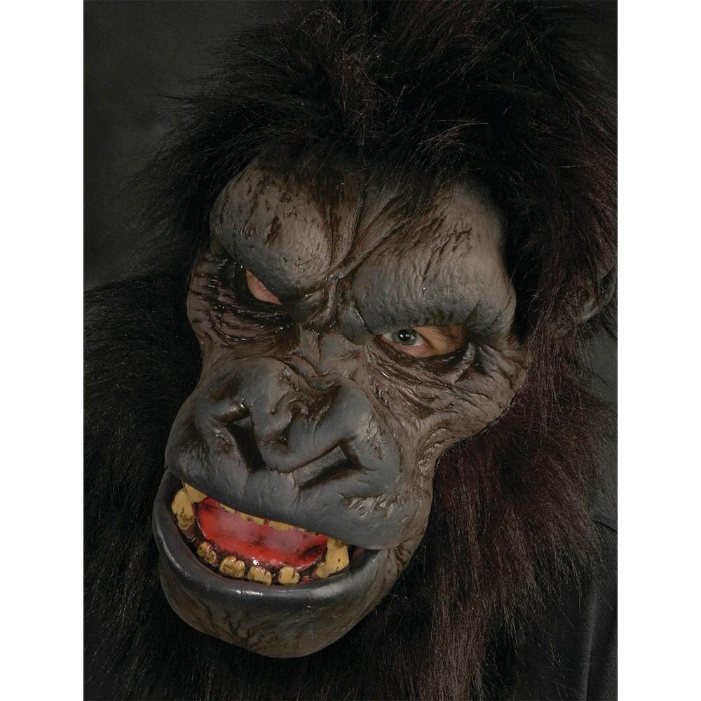 Adult Go-Rilla Latex Mask, Men's, Black
