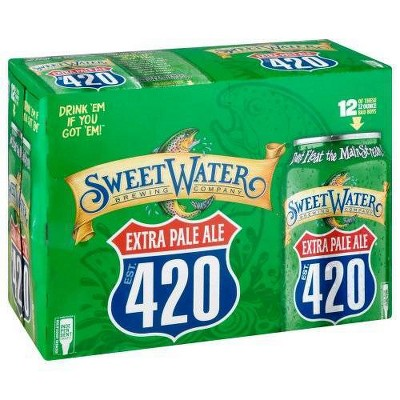 SweetWater 420 Pale Ale Beer - 12pk/12 fl oz Cans