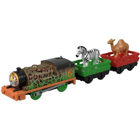 Fisher-Price Thomas & Friends TrackMaster Animal Party Percy Engine - image 1 of 5