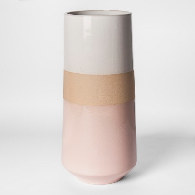 Clay Stripe Vase - Pink - Project 62™